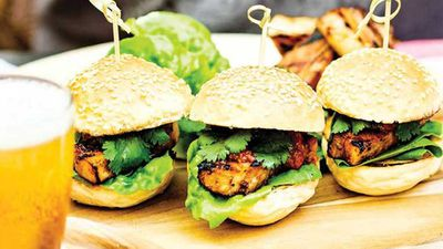 "Recipe: <a href=""http://kitchen.nine.com.au/2017/02/17/07/07/buns-with-barbecued-pork-belly-and-chilli-jam"" target=""_top"">Buns with barbecued pork belly and chilli jam</a>"