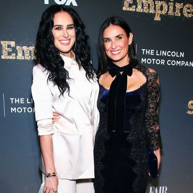 Demi Moore and her daughter, Rumer Willis