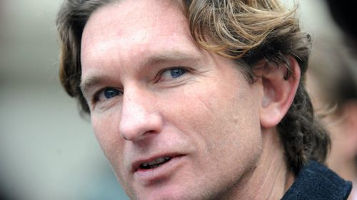 Suspended Bombers coach James Hird has returned home from overseas early. (AAP)
