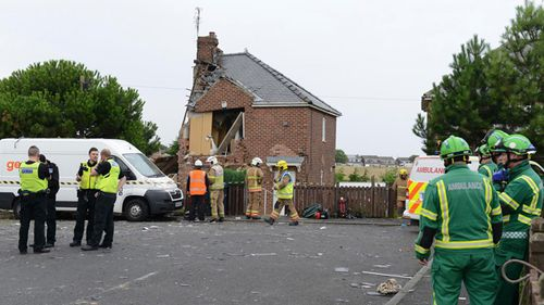 Ms Shepherd's neighbour's home was also seriously damaged by the explosion. (Facebook)