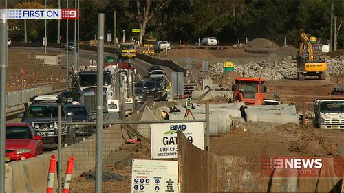 Sydney commuters will need to put up with work for awhile yet. (9NEWS)