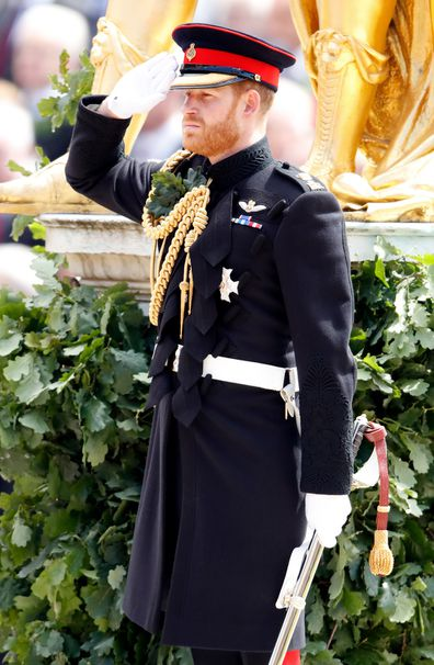 Duke of Sussex at the annual Founder's Day Parade at the Royal Hospital Chelsea on June 6, 2019 in London, England.
