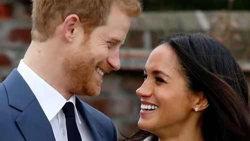 Harry and Meghan marry on May 19. (60 Minutes)