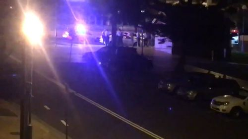 Police were called to the Coogee park about 11pm. (9NEWS)