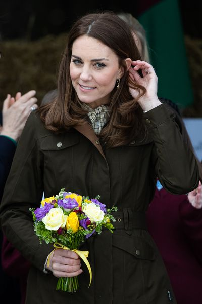 Kate debuts fashion forward new haircut in Ireland