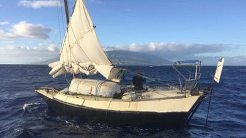 Australian man in homemade boat rescued off Hawaii after 100 day voyage