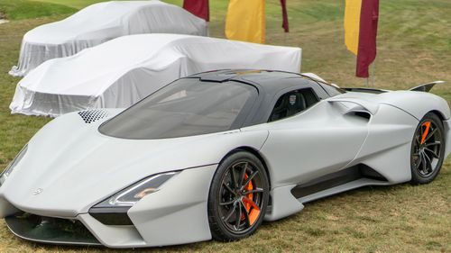 The SSC Tuatara has been unveiled at Monterey Car Week in California.