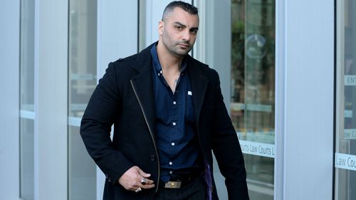 Mick Hawi outside court in 2014.