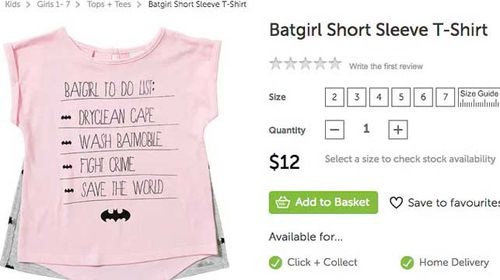 Target pulls 'sexist' children's clothing from stores