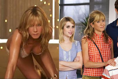 <b>US$31 million</b><br/><br/>Still earning cash from TV series <i>Friends</i>, Jennifer Aniston also brought home lots of dough playing a drug-smuggling stripper who goes undercover as a mum in <i>We're the Millers</i>.<br/><br/>Images: <i>We're the Millers</i> / Warner Bros.