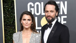 Keri Russell and Matthew Rhys at the 2019 Golden Globe awards
