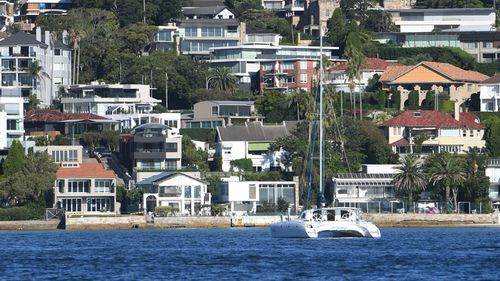 Sydney property.