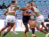 WATCH: Burgess taunts Farah after big-hit