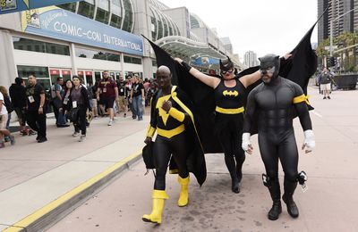 It's a black and gold affair as Black Adam, Batgirl and Wildcat make a DC entrance.
