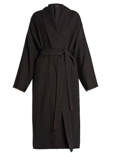 "Nili Lotan black coat $1844 at <a href=""http://www.matchesfashion.com/au/products/Nili-Lotan-Laight-brushed-wool-coat-1063143"" target=""_blank"">Matchesfashion.com</a>"