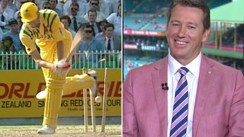 McGrath tickled pink despite batting stink