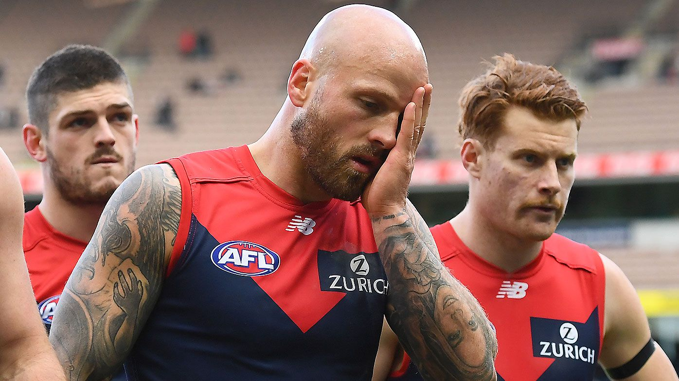 Nathan Jones steps down as Melbourne co-captain after disastrous season