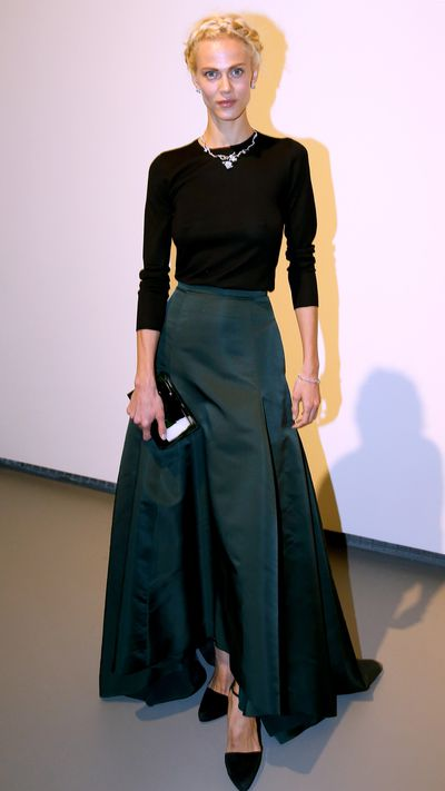 <p>We'd like to take braiding lessons from Valade, here at the opening of&nbsp;Fondation Louis Vuitton opening in Paris.</p>