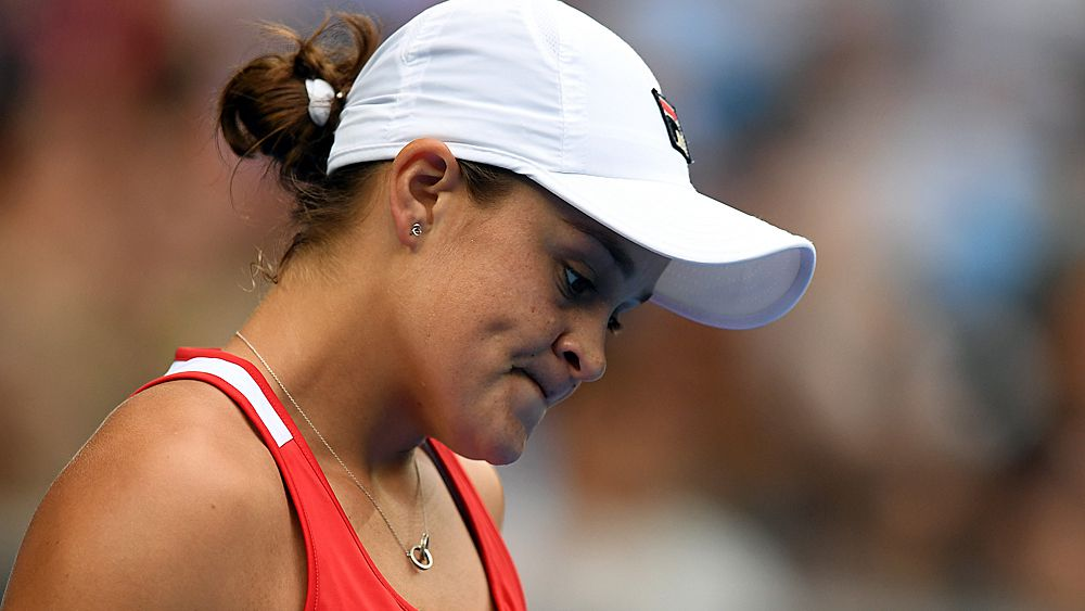 Australian Open: Ash Barty refuses to blame court change for straight sets loss to Naomi Osaka