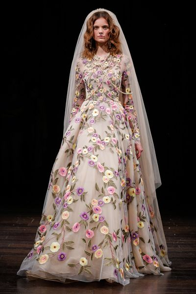 Naeem Khan, New York Bridal Fashion Week, 2017