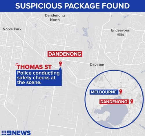 Police give the all-clear after bomb scare at building