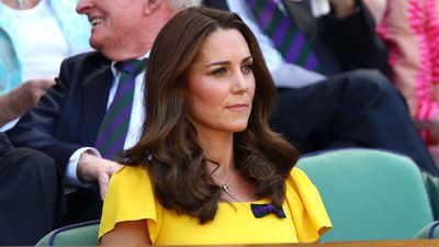 Kate Middleton at Wimbledon, July 2018