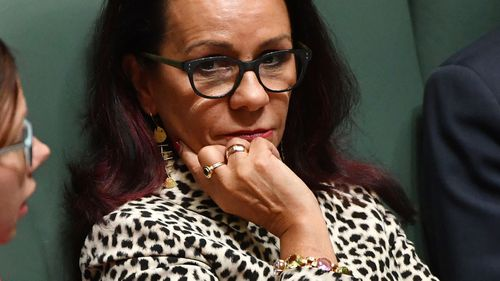 Linda Burney's office is accused of doctoring an interview transcript.  (AAP)