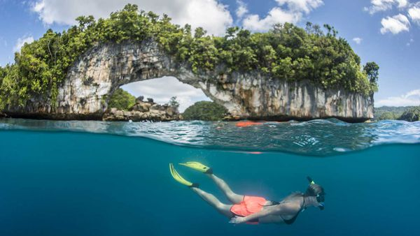 Palau snorkelling