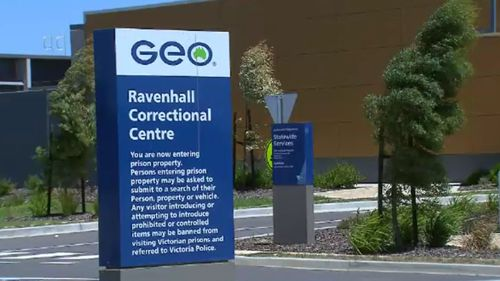 The prisoner was released from Ravenhall Correctional Centre on January 23. (9NEWS)