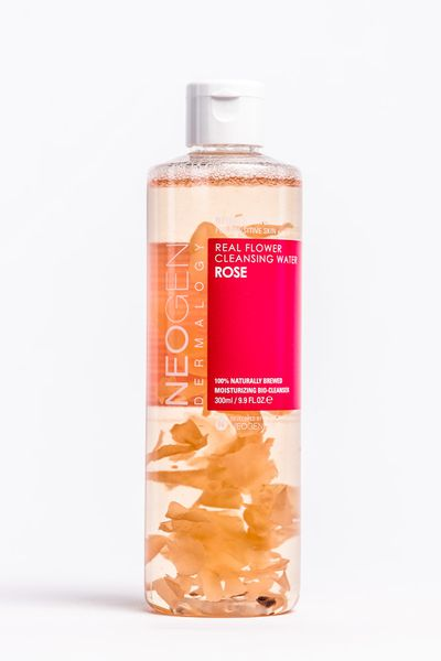 """&nbsp;<a href=""""https://www.aniqa.com.au/shop/cleansers/neogen-real-flower-rose-cleansing-water#"""" target=""""_blank"""" draggable=""""false"""">Neogen Real Flower Rose Cleansing Water, $27.</a>"""