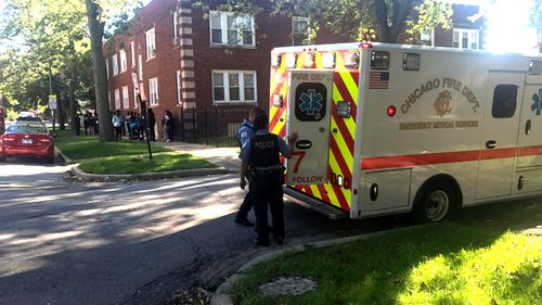 Chicago shooting: Three students shot outside high school