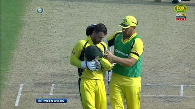 Australia wicketkeeper Matthew Wade suffers heat stress in stifling Kolkata conditions