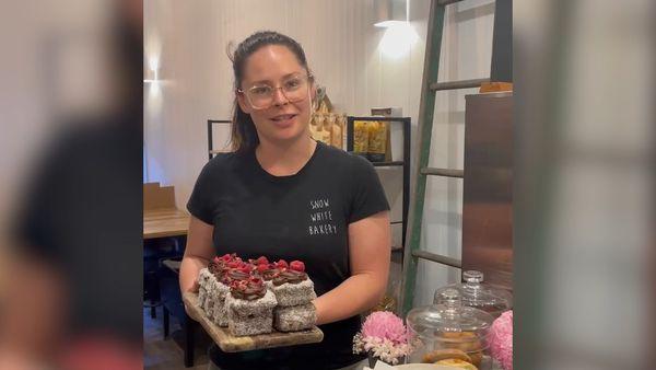 Melbourne bakery launches Vegemite-infused lamingtons