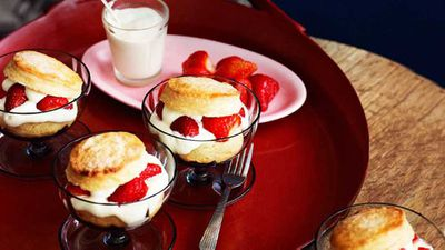 <strong>Strawberry shortcakes</strong>