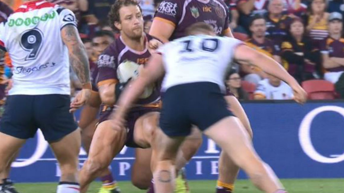 Dylan Napa escapes NRL sanction for Korbin Sims head-clash
