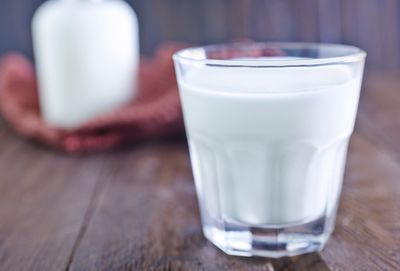 <strong>A warm glass of milk</strong>