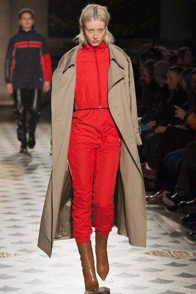 <p>The trench is a perennial wardrobe staple, but this season the classic feminine feel of a cinched-at-the-waist trench has been replaced by oversized proportions, thanks to runway hotshot Vetements. Look for relaxed shapes (or go up a size) and enjoy a roomier sartorial experience as you navigate the winter weather. Buy into that cool-girl vibe by leaving it unbelted and pairing with white sneakers and frayed denim.</p><p>Click through to shop new season styles now.</p>