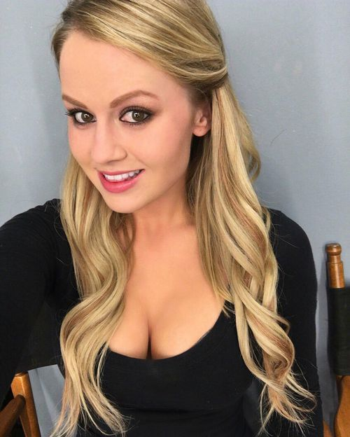 Anna Sophia Berglund was involved with Hef in 2011. (Twitter)