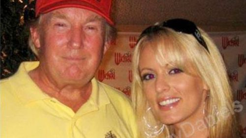 "Trump tweeted that the man was ""non-existent"" and that Daniels was playing the ""fake news media for fools"" after she made allegations about having an affair with him."