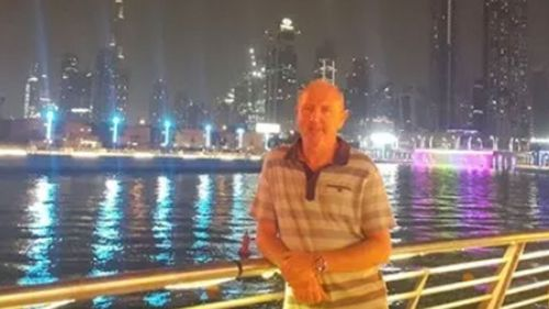 """John Murphy, 52, from London, has already spent six weeks in a """"baking hot"""" prison eating """"rotting garbage"""", according to Detained in Dubai."""