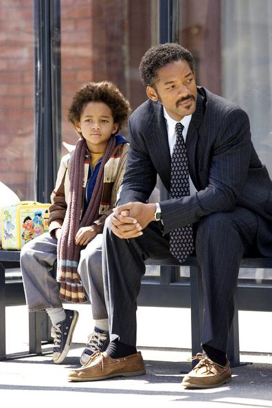 Will Smith in The Pursuit of Happyness playing Chris Gardner