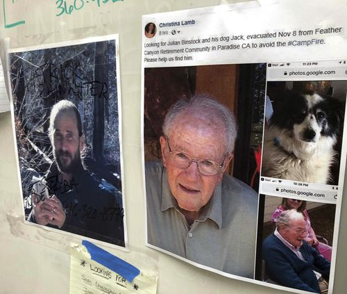 Amid concerns the list does not include enough names, community message boards with heartbreaking pleas for help have been set up in affected areas by loved ones searching for the missing,