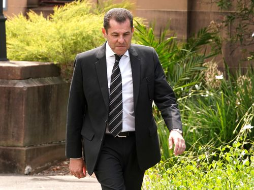 Mark Caleo is pleading 'not guilty' to soliciting his wife's murder. (AAP)