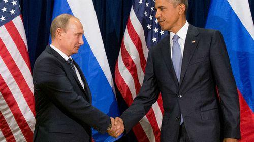 Obama urges Putin to stop Syria assault
