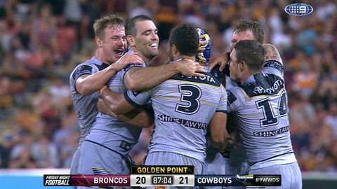 Cowboys down Broncos in extra time