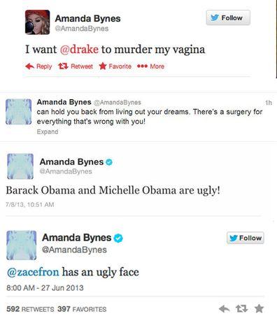 Amanda Bynes is back on Twitter. Yay! - 9Celebrity