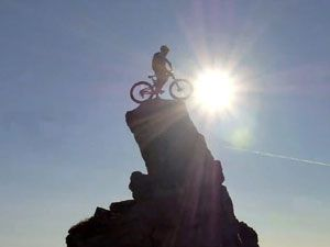 Scottish mountain bike rider Danny MacAskill. (supplied)