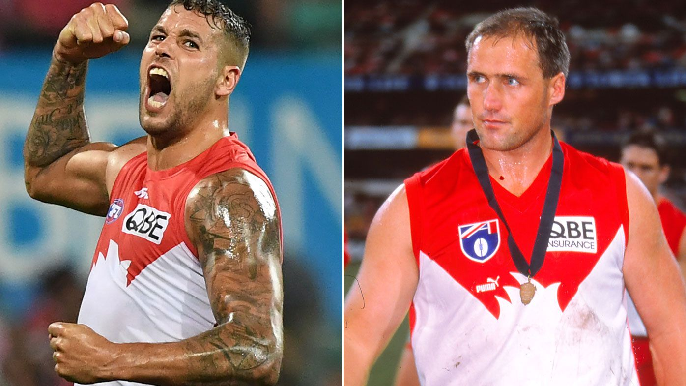 Buddy Franklin set to join Tony Lockett as the only men to score 300 goals for two clubs