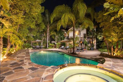 The rapper's Los Angeles mansion went up for sale last year.