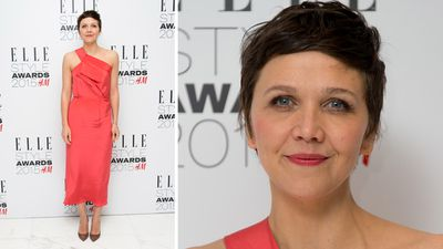 Maggie Gyllenhaal won the 'TV Actress' award. (Getty)